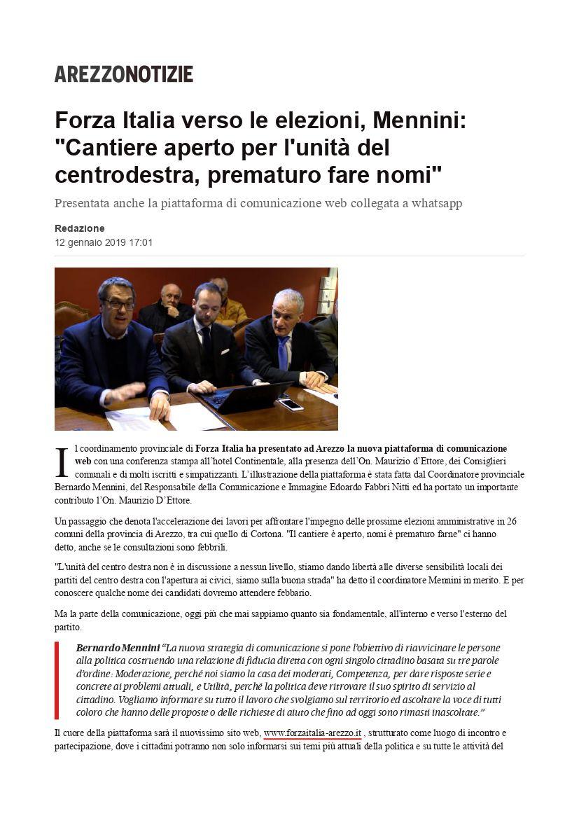 Presentata ad Arezzo la nostra piattaforma di comunicazione 11