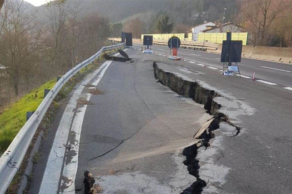E45, chiuso il viadotto del Puleto: Interrogazione di Forza Italia
