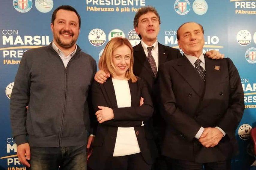 Il Centrodestra unito stravince in Abruzzo