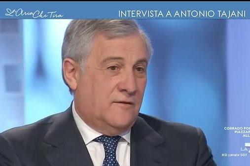 Il Presidente Tajani a L'aria che tira