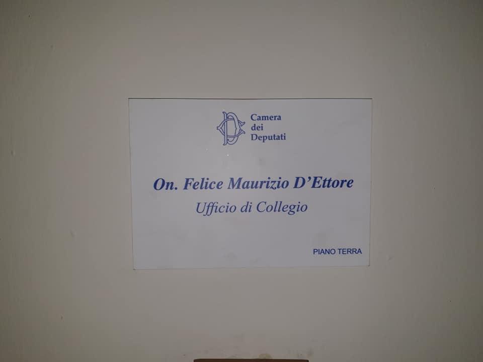 Maurizio D'Ettore riceve i cittadini all'Ufficio di Collegio di Arezzo 4