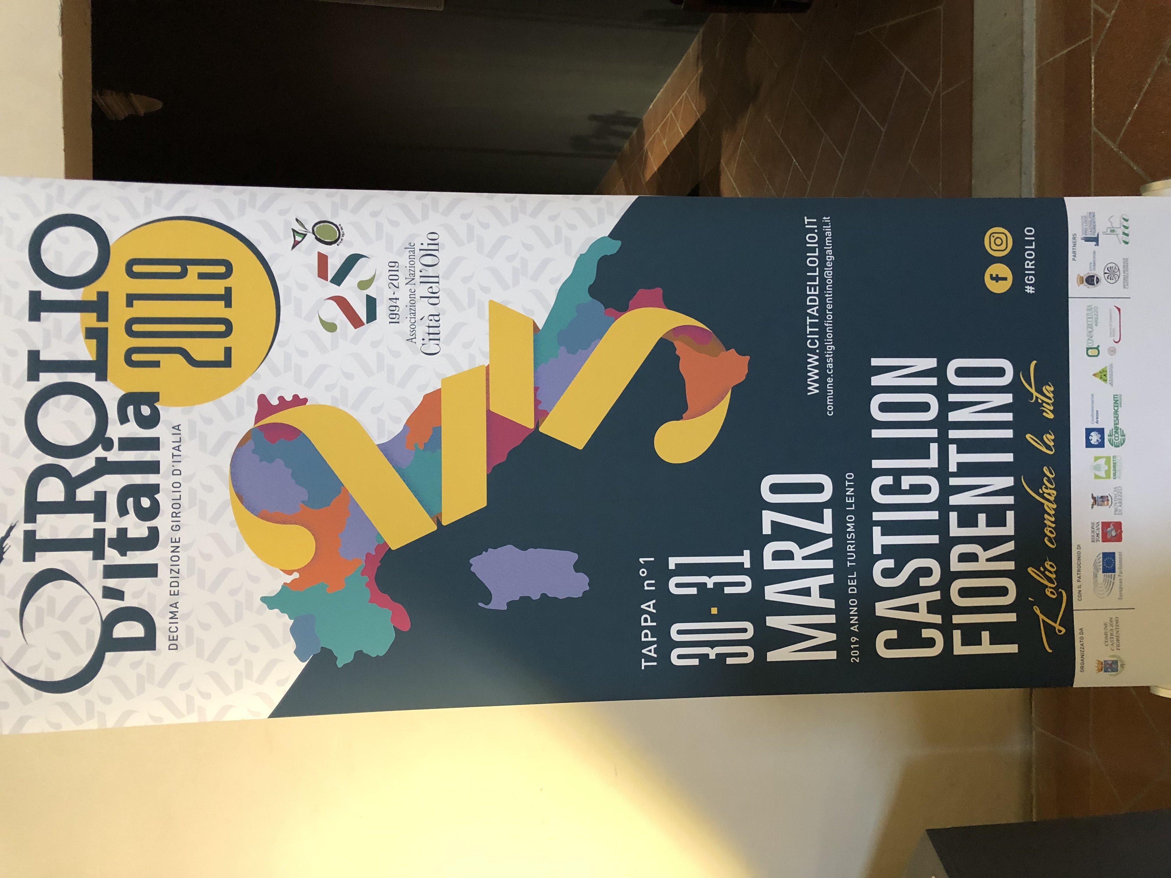 Tajani al girolio d'Italia a Castiglion Fiorentino 18