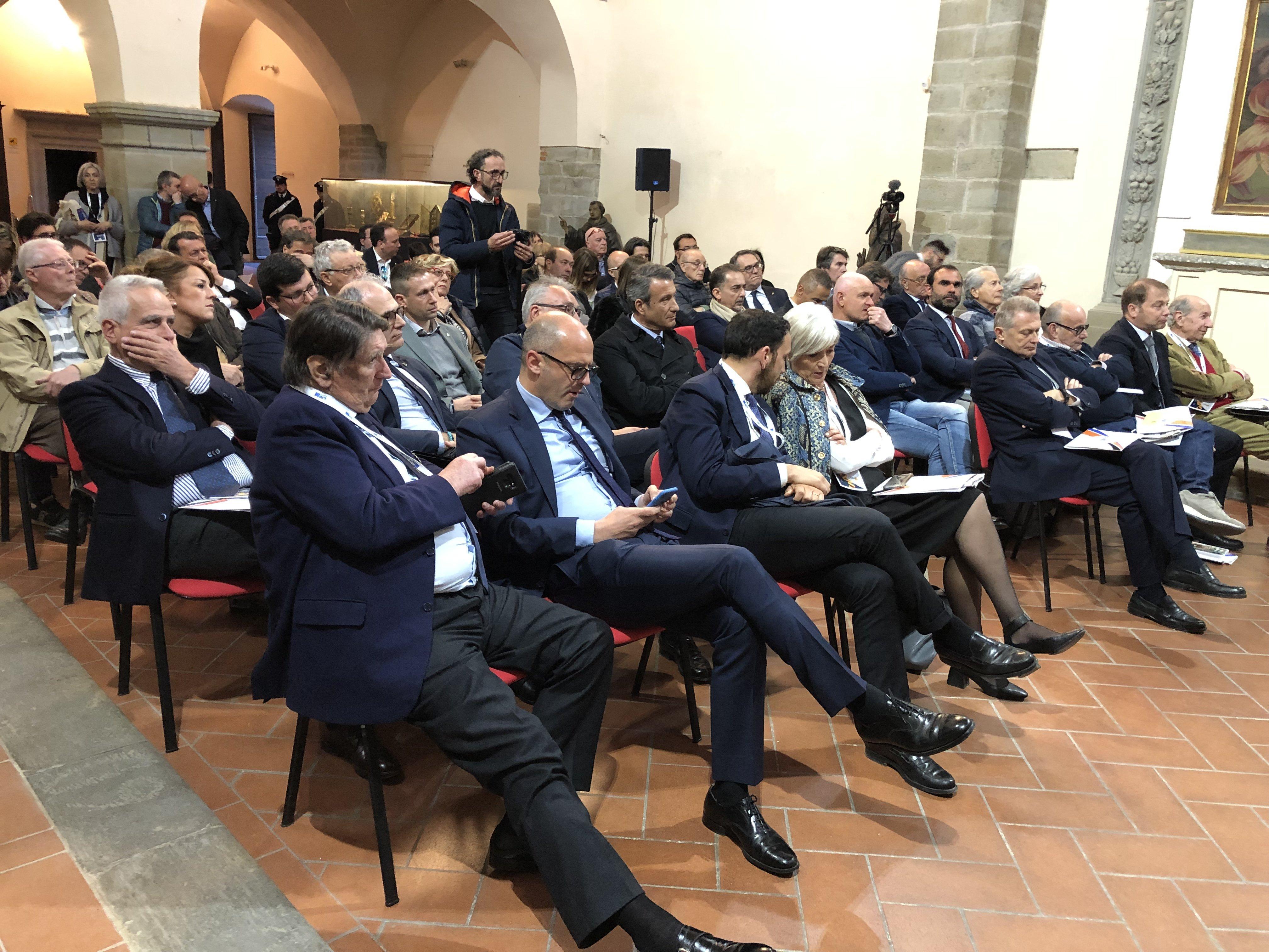 Tajani al girolio d'Italia a Castiglion Fiorentino 23