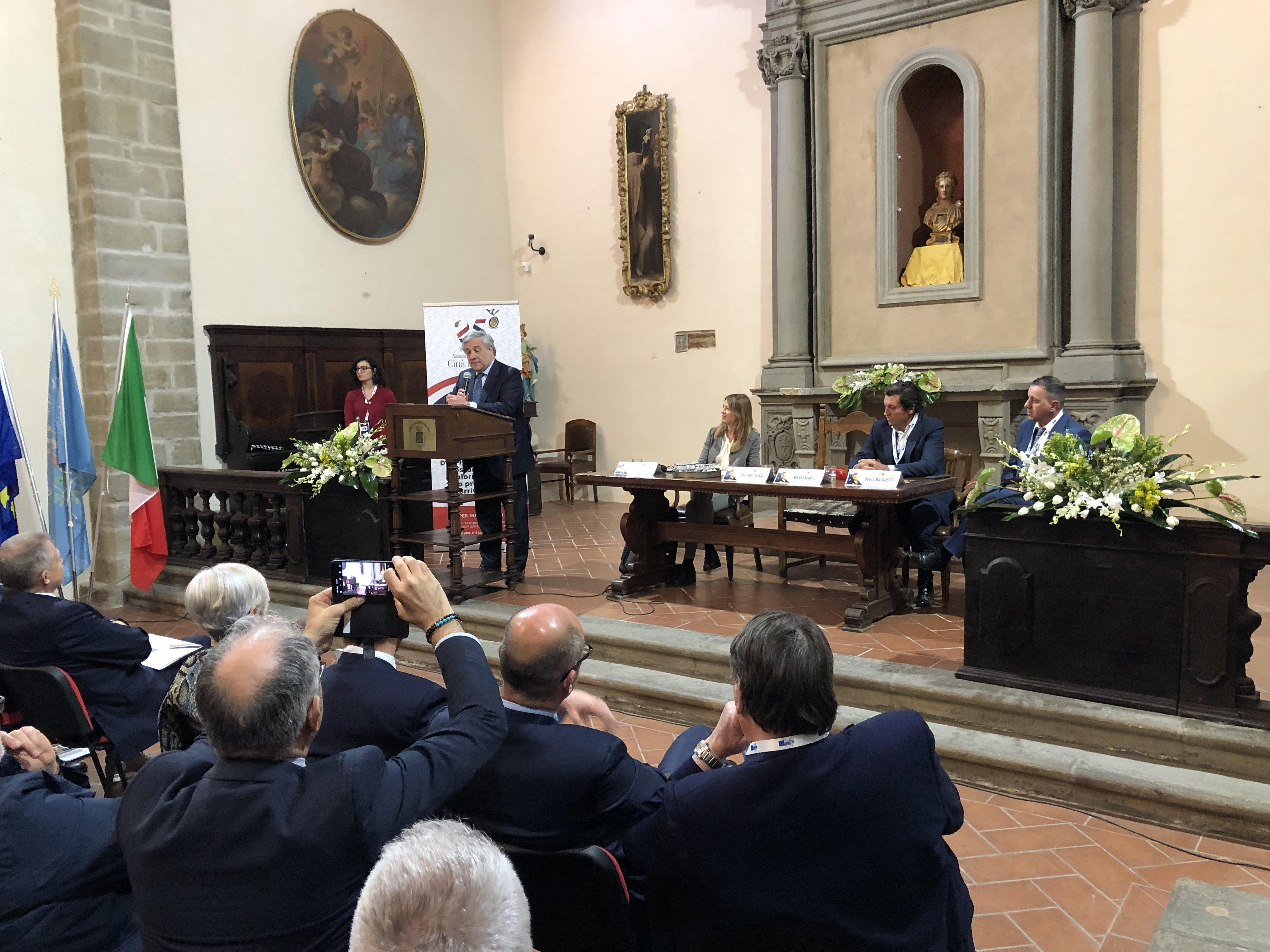 Tajani al girolio d'Italia a Castiglion Fiorentino 24