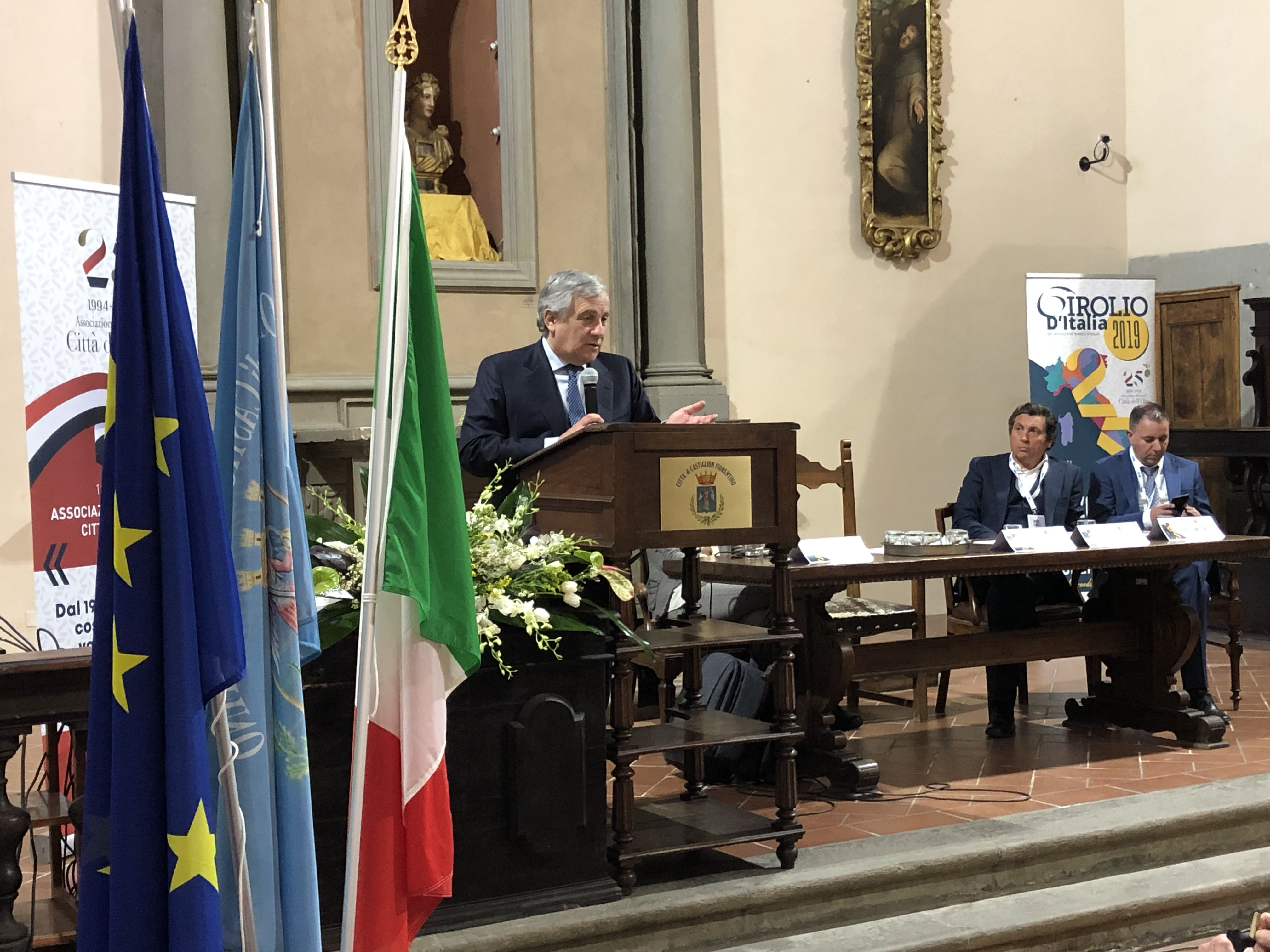 Tajani al girolio d'Italia a Castiglion Fiorentino 25