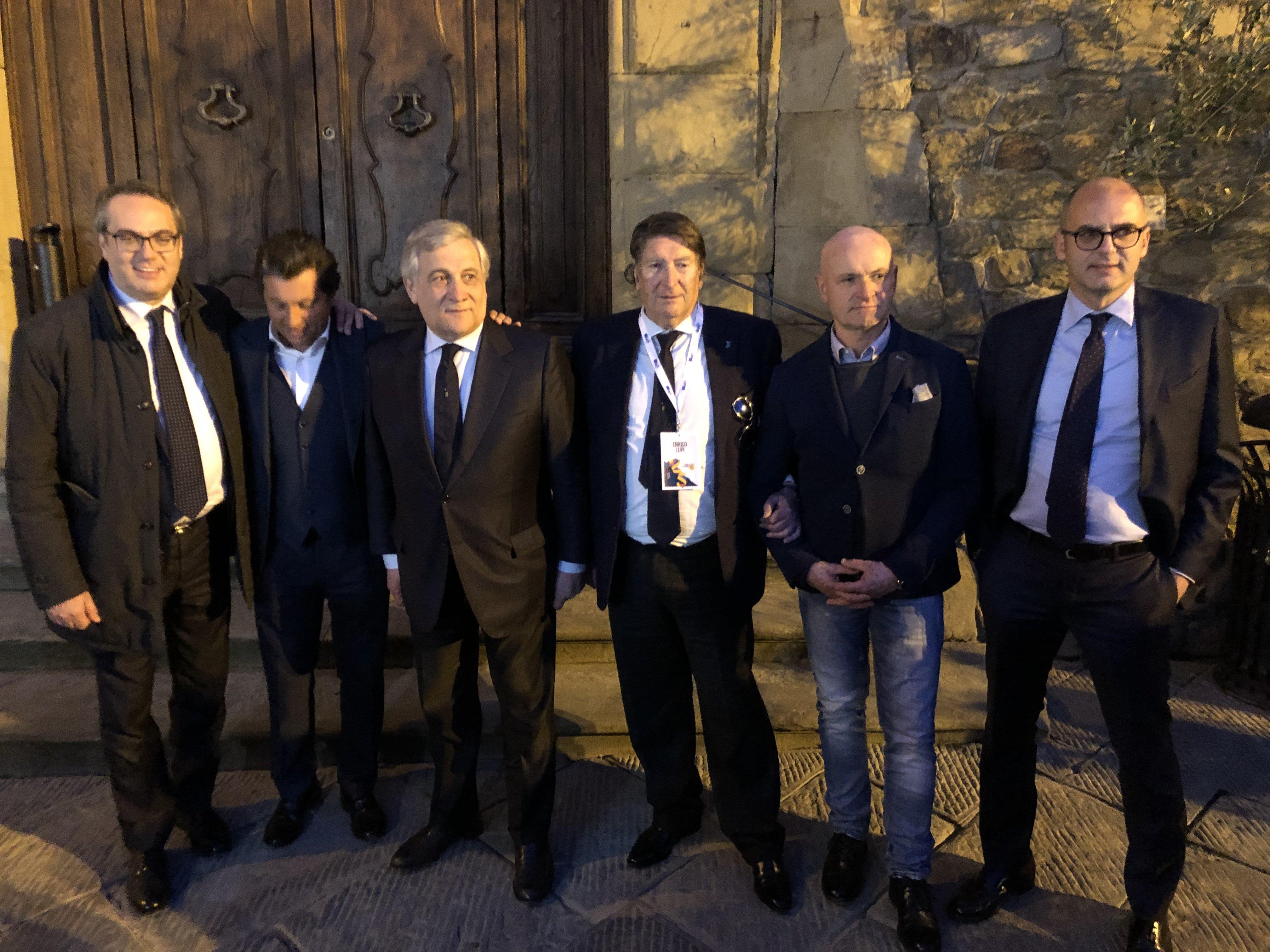 Tajani al girolio d'Italia a Castiglion Fiorentino 27