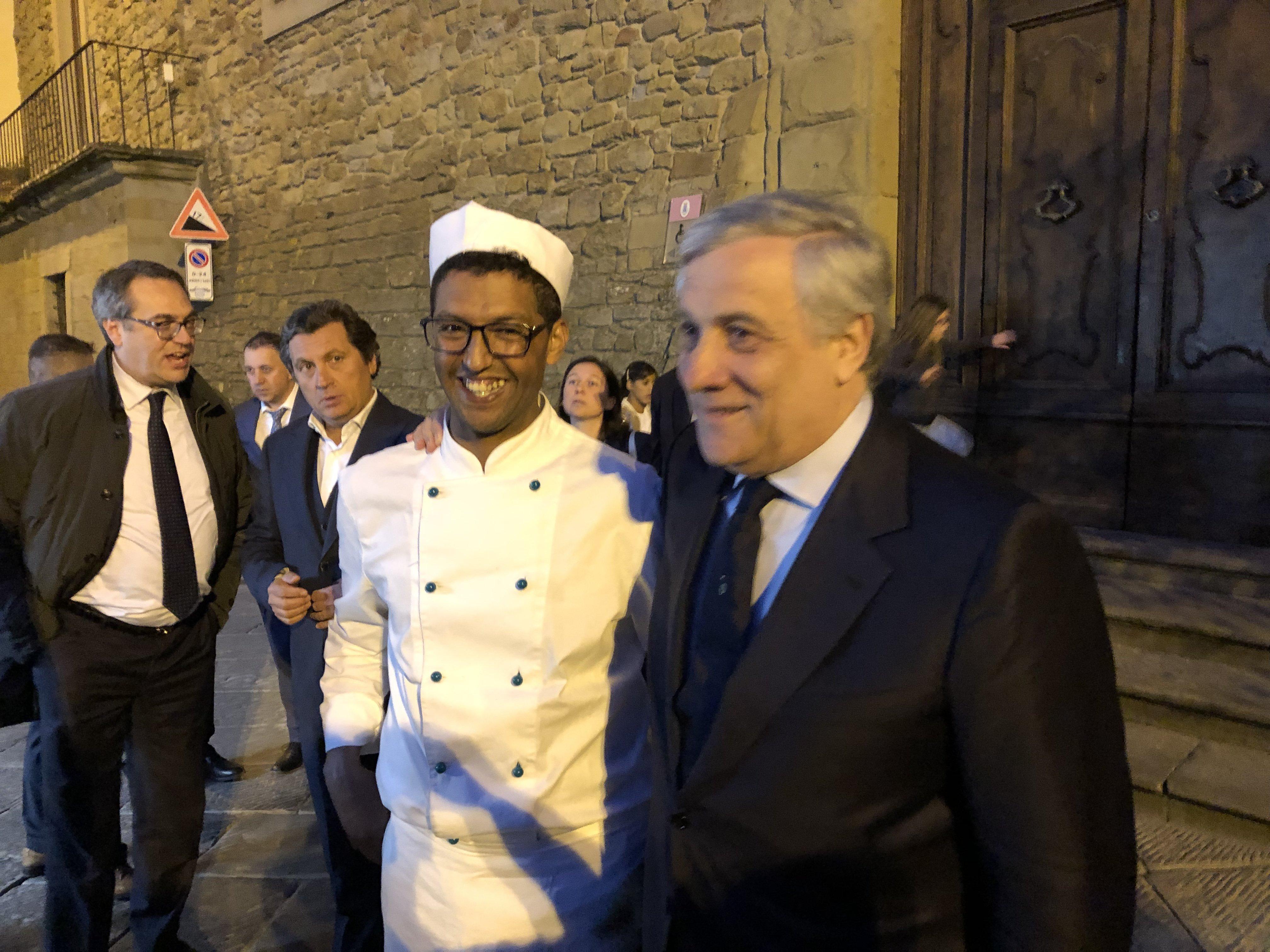 Tajani al girolio d'Italia a Castiglion Fiorentino 28
