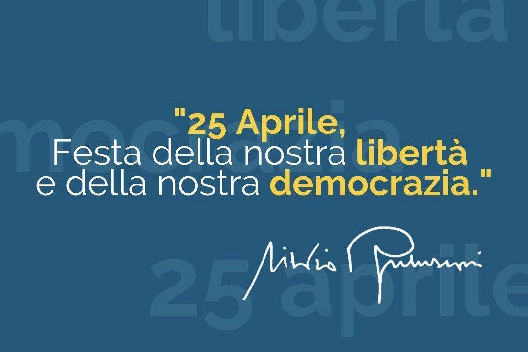 Rileggiamo e condividiamo il discorso del 25 aprile a Onna di Silvio Berlusconi. È attuale, oggi più che mai.