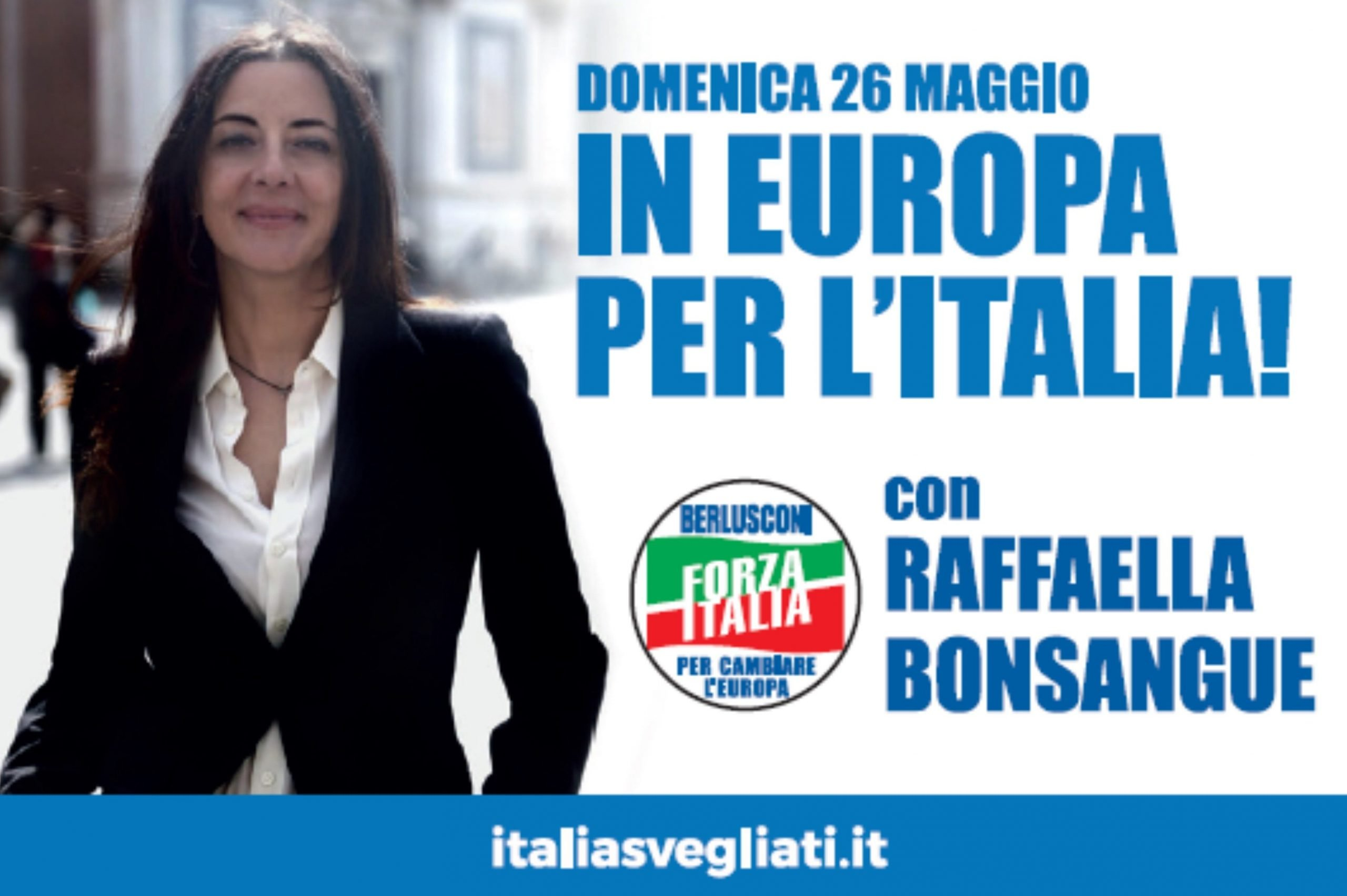 Raffaella Bonsangue candidata alle Europee