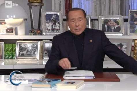 Il Presidente Berlusconi a Porta a Porta per le elezioni europee