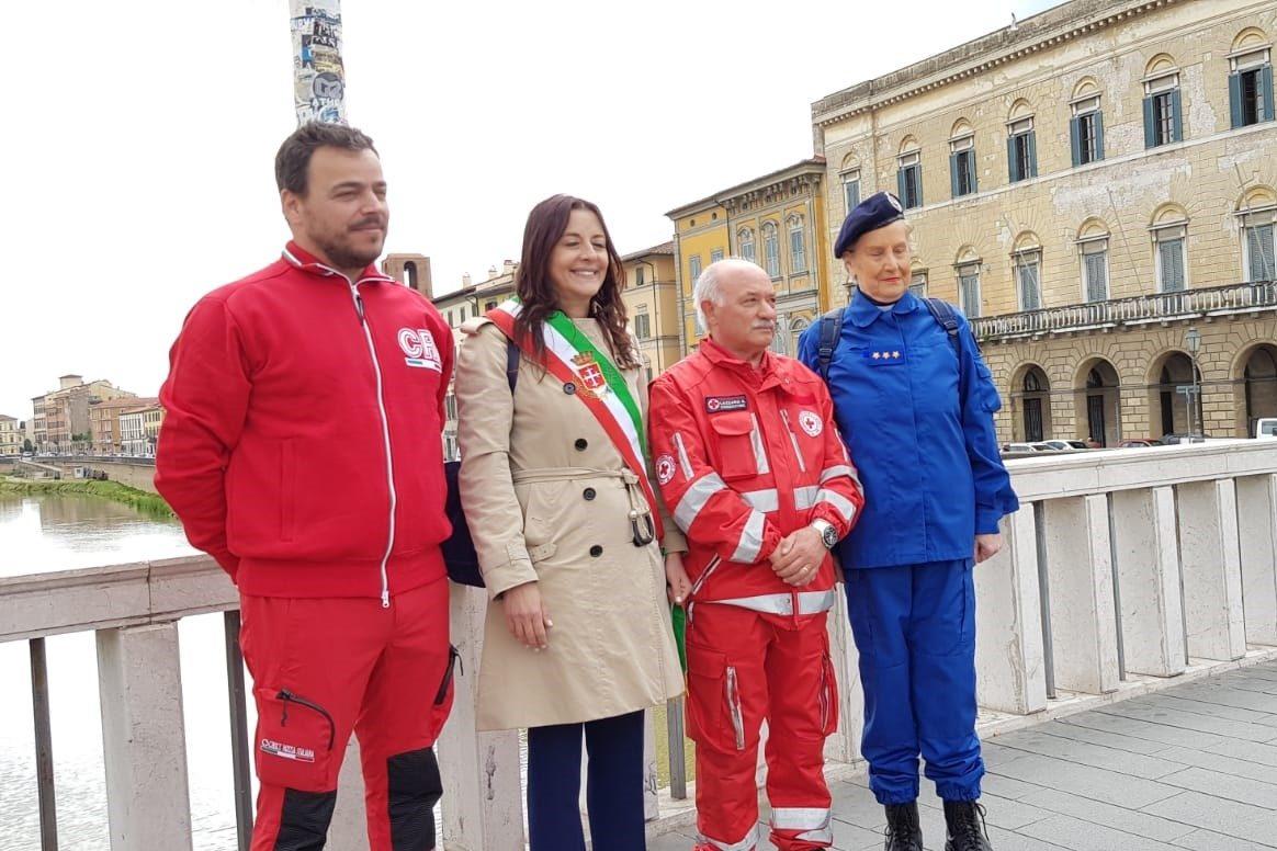 Raffaella Bonsangue presenzia le celebrazioni della Croce Rossa Italiana