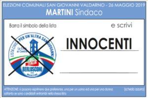 Lista Candidati San Giovanni Valdarno 4