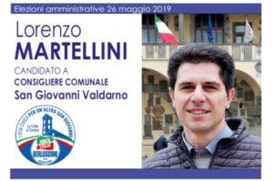 Lista Candidati San Giovanni Valdarno 1