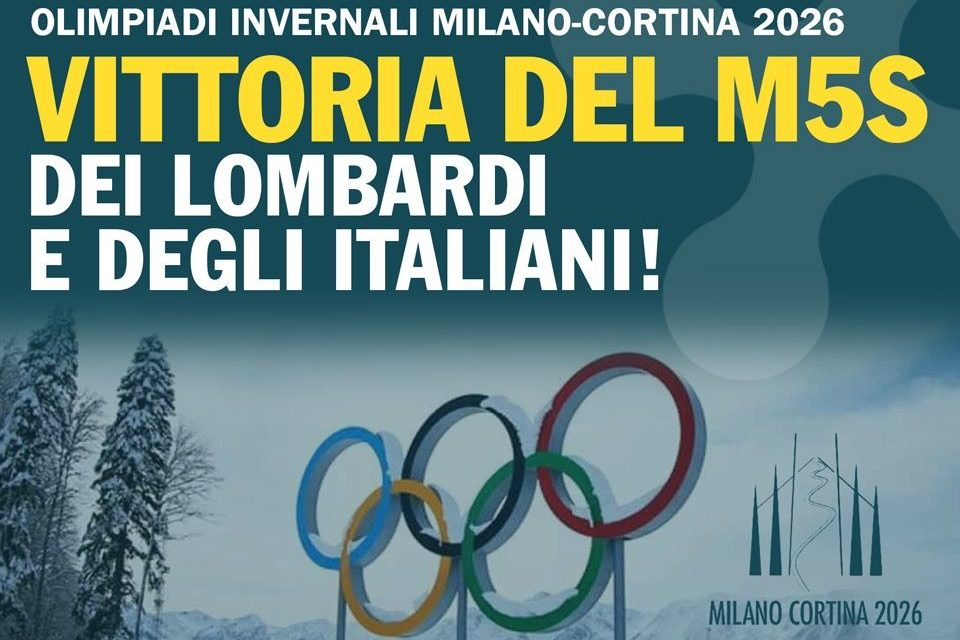 Le Olimpiadi e la falsa propaganda pentastellata