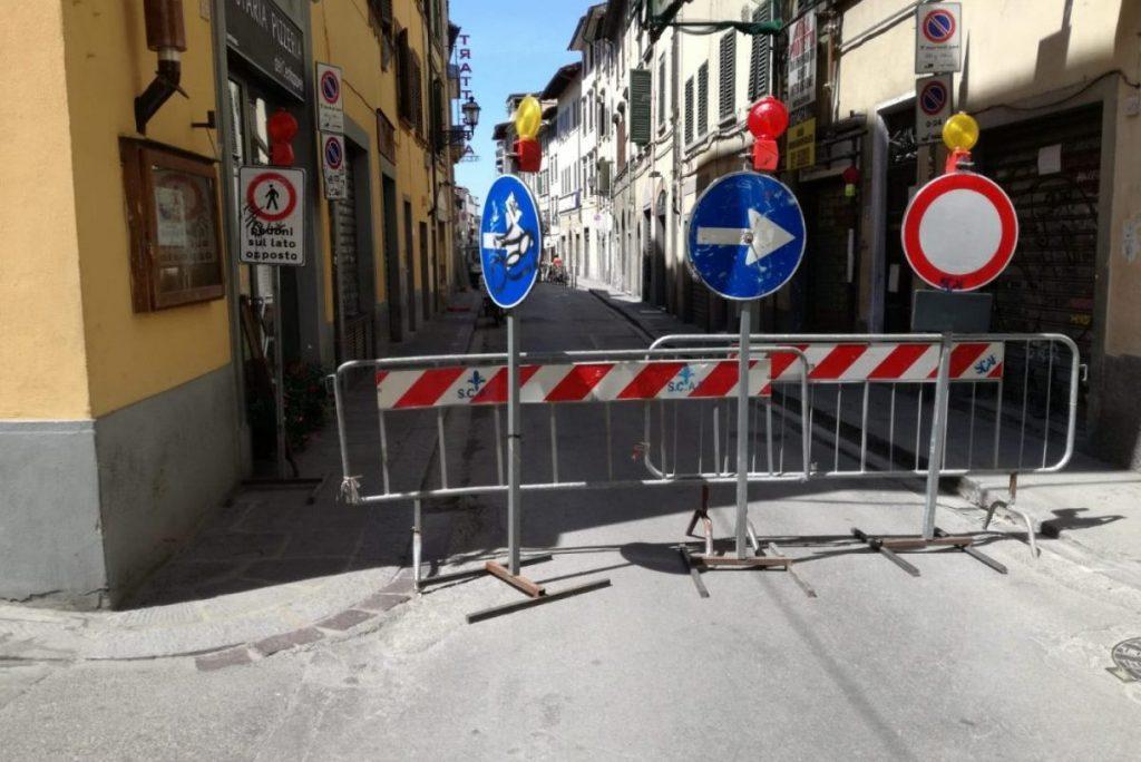via Palazzuolo Firenze