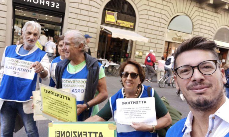 Il dipartimento sicurezza regionale ha messo in atto un'iniziativa a Firenze finalizzata ad osservare da vicino le svariate situazioni di degrado che penalizzano la città.