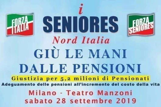 Seniores: Effetti del blocco della rivalutazione delle pensioni