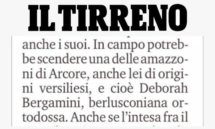 Deborah Bergamini scrive al direttore de Il Tirreno dopo gli epiteti sessisti ricevuti