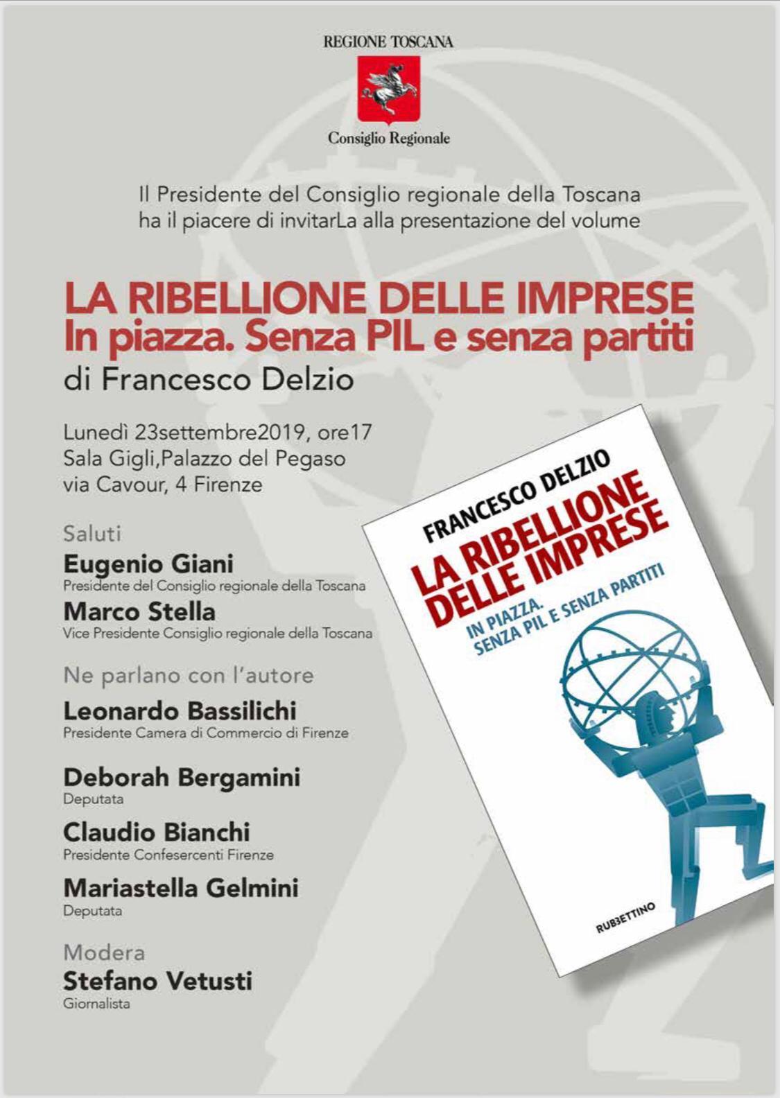 """Conferenza """"La Ribellione delle imprese"""""""
