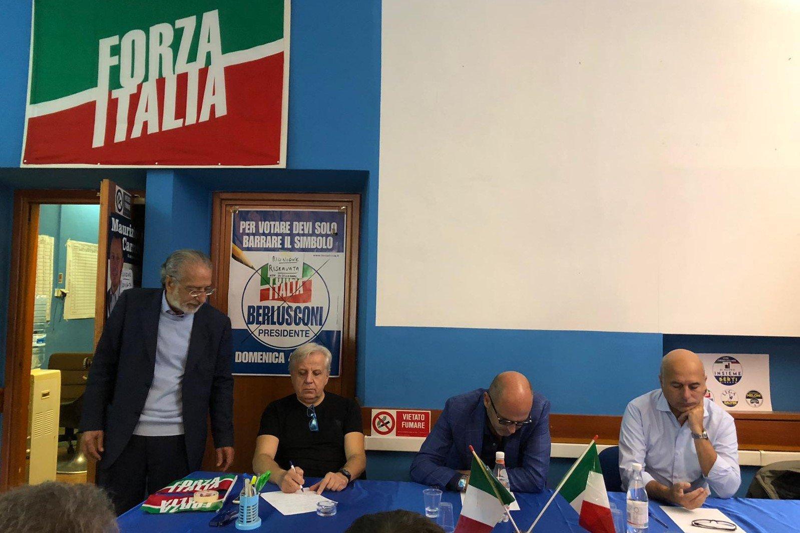 Coordinamento regionale di Forza Italia stamani a Montecatini Terme