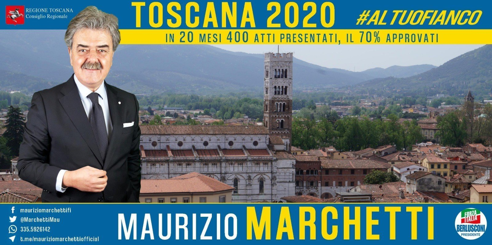 Maurizio Marchetti Toscana 2020
