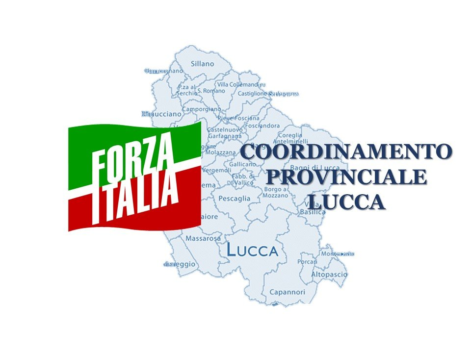 Lucca coordinamento provinciale Forza Italia