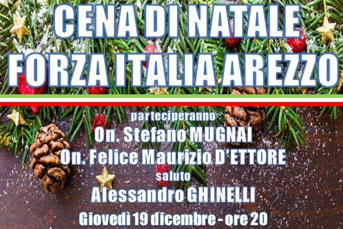 Cena di Natale Forza Italia Arezzo