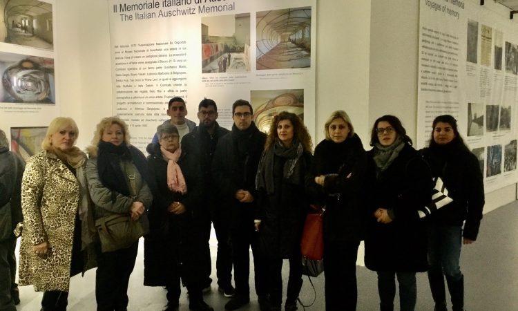 Firenze, Forza Italia visita il memoriale italiano di Auschwitz. Per non dimenticare l'atrocità e lo sterminio, stamani Forza Italia ha commemorato la Shoah