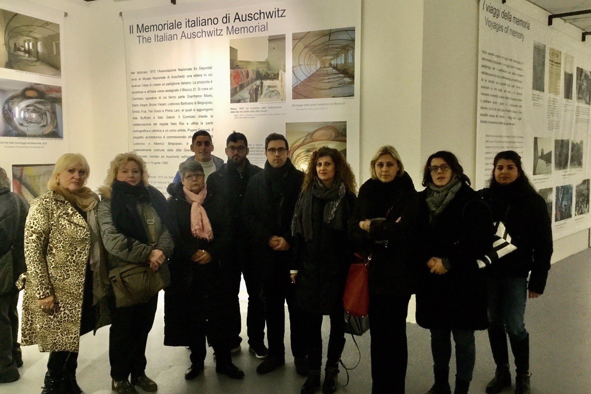 Firenze, Forza Italia visita il memoriale italiano di Auschwitz