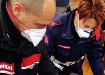 Scandicci: Intervento dei carabinieri al centro vaccinale