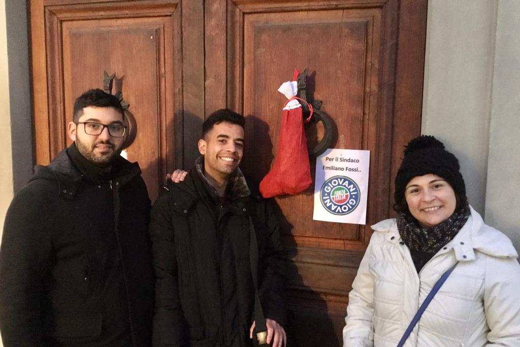 Giovani Carbone per il sindaco di Campi