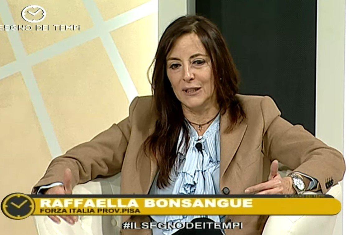 """Raffaella Bonsangue a """"Il segno dei tempi"""" su 50 canale"""