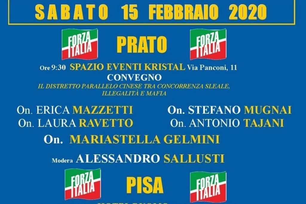 Gelmini e Mugnai: Tour in Toscana il 15 febbraio