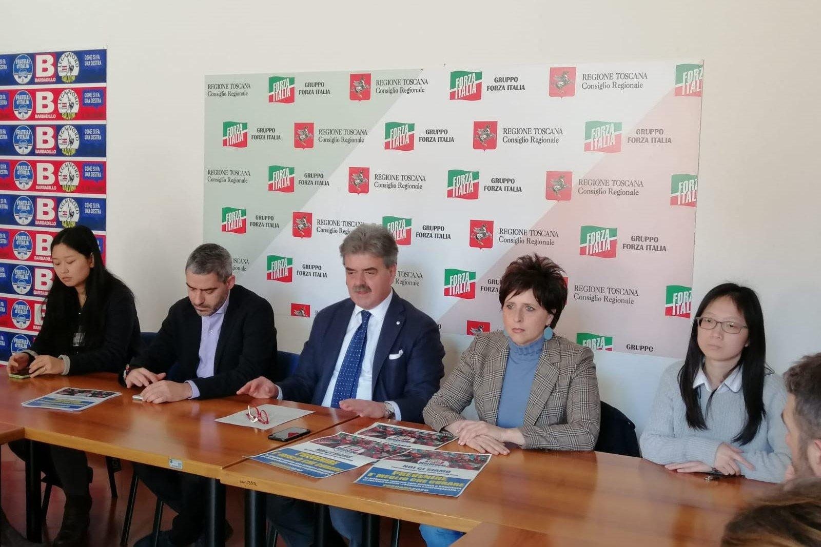 Coronavirus, conferenza di Forza Italia Toscana con rappresentanti comunità cinese