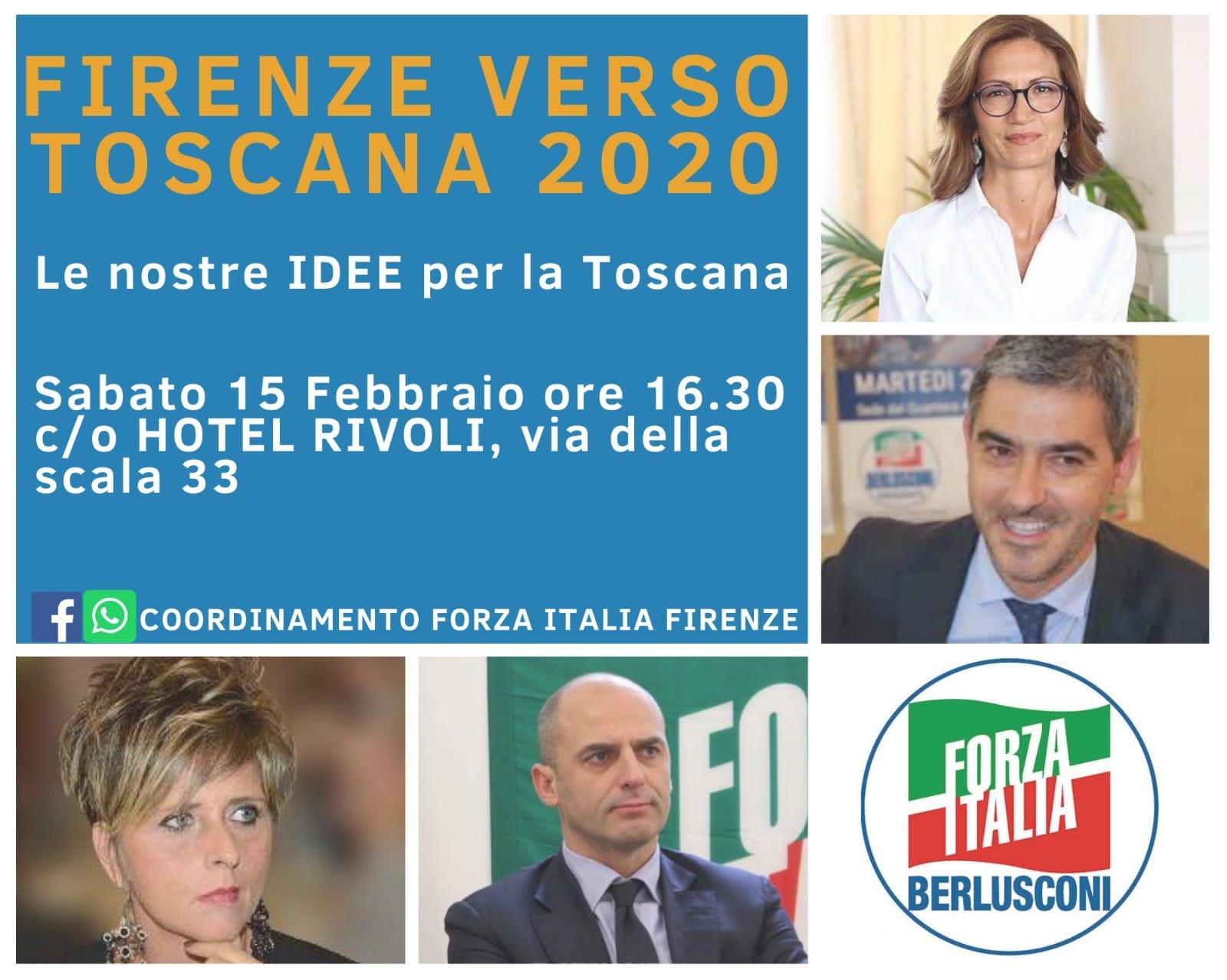 Firenze verso Toscana 2020 - locandina