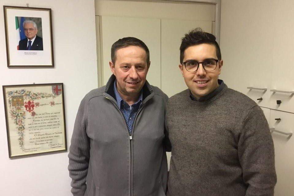 Gandola incontra il sindaco di Fiorenzuola