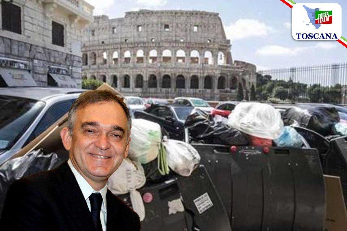Mazzetti: La Regione Toscana si accolla i rifiuti di Roma