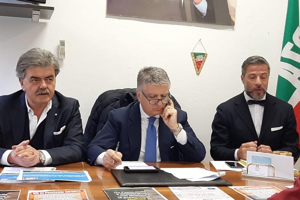 Giustizia e Prescrizione, Forza Italia a Lucca