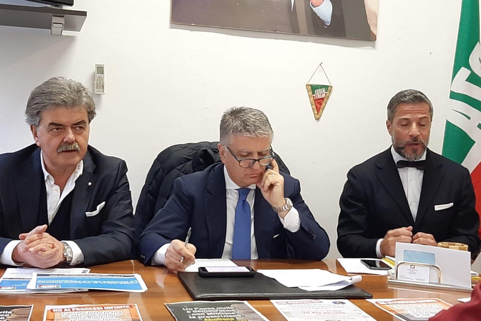 Giustizia e prescrizione, Forza Italia a Lucca si mobilita