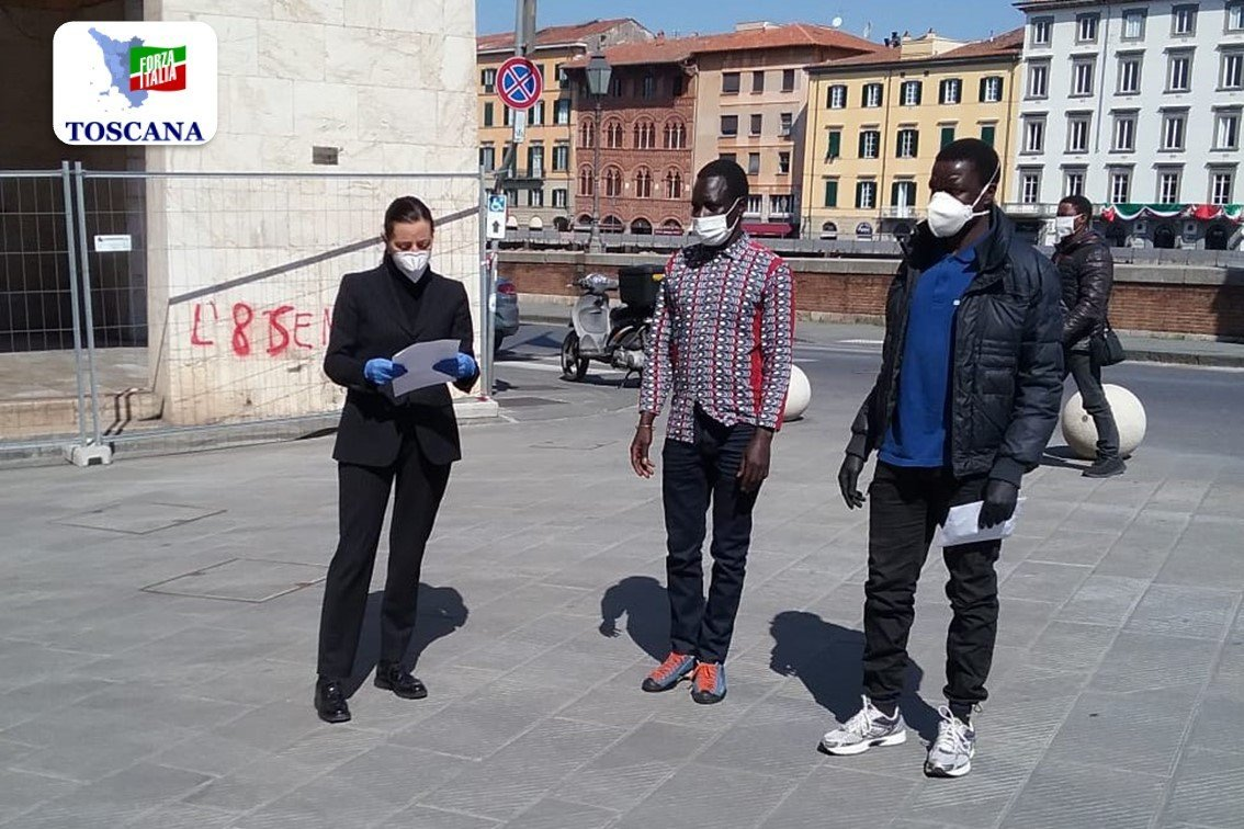 Pisa: comunità senegalese dona mascherine e guanti