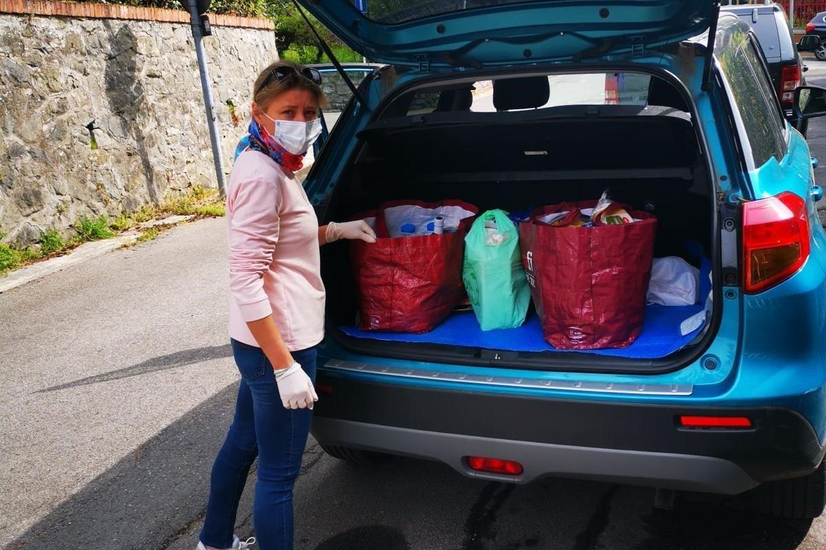 Montecatini: Forza Italia consegna beni di prima necessità