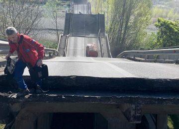 Crollo ponte Lunigiana, si è rischiata la tragedia