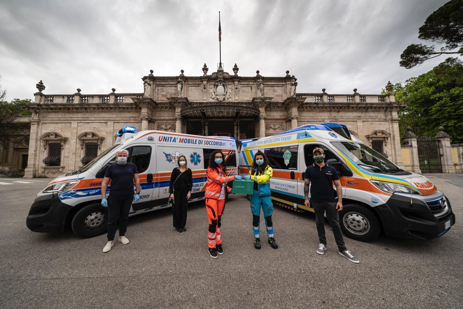 Montecatini: inaugurato sanificatore donato dai cittadini