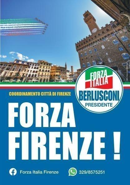 FORZA FIRENZE! Forza Italia Firenze lancia nuove affissioni 3