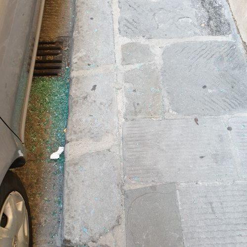 Firenze: Finestrini rotti in via Ghibellina, inaccettabile 3