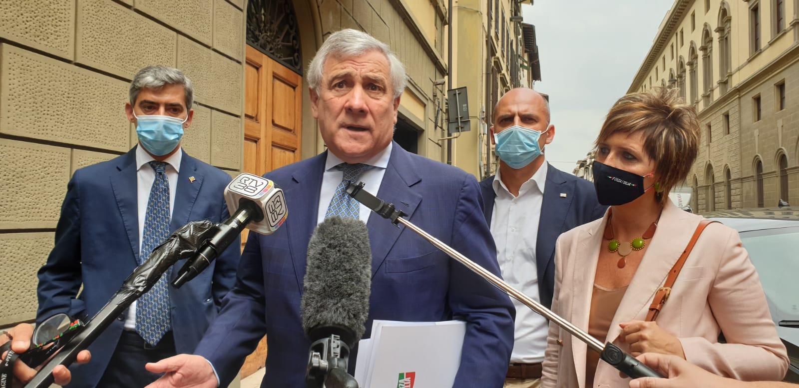 Antonio Tajani Firenze Mugnai Mazzetti Cellai