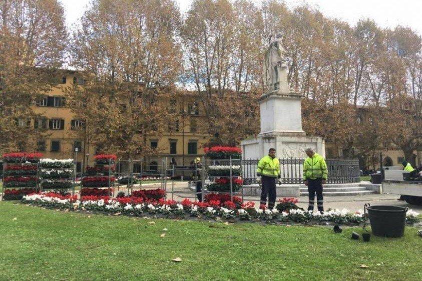 Firenze: utilizziamo percettori RDC per pulire i giardini