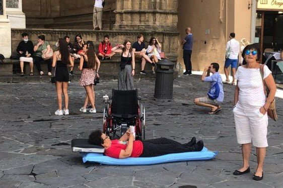 disabilità Toscana proteste