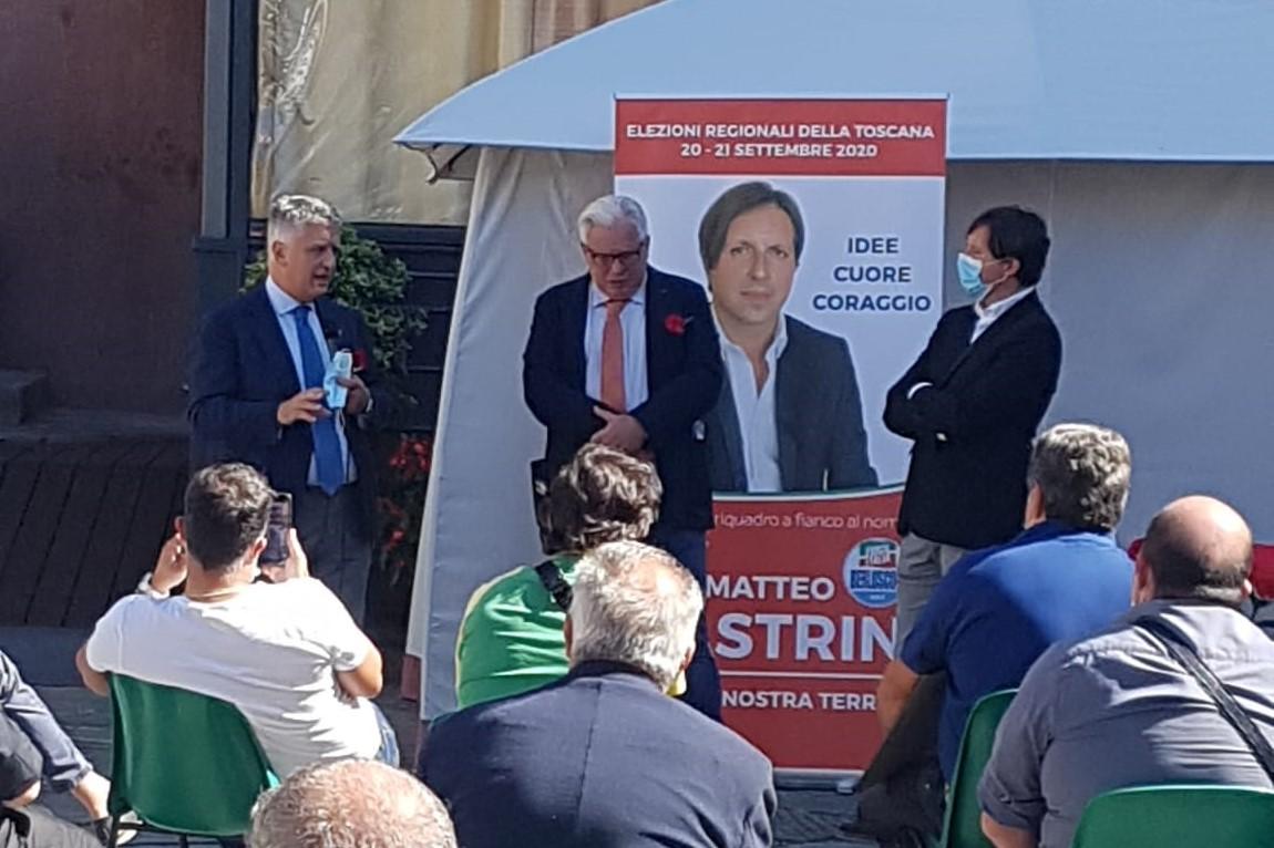 """Mallegni: """"Forza Italia punto di riferimento per i moderati"""""""