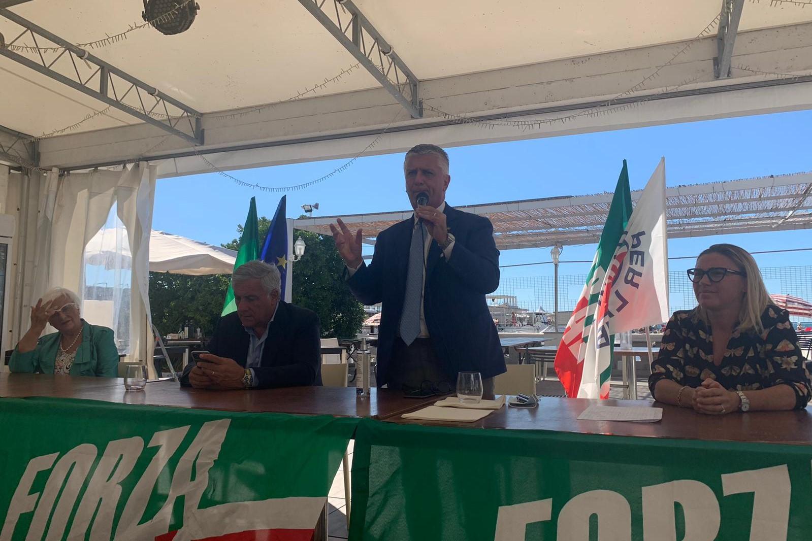 Tajani tour toscana